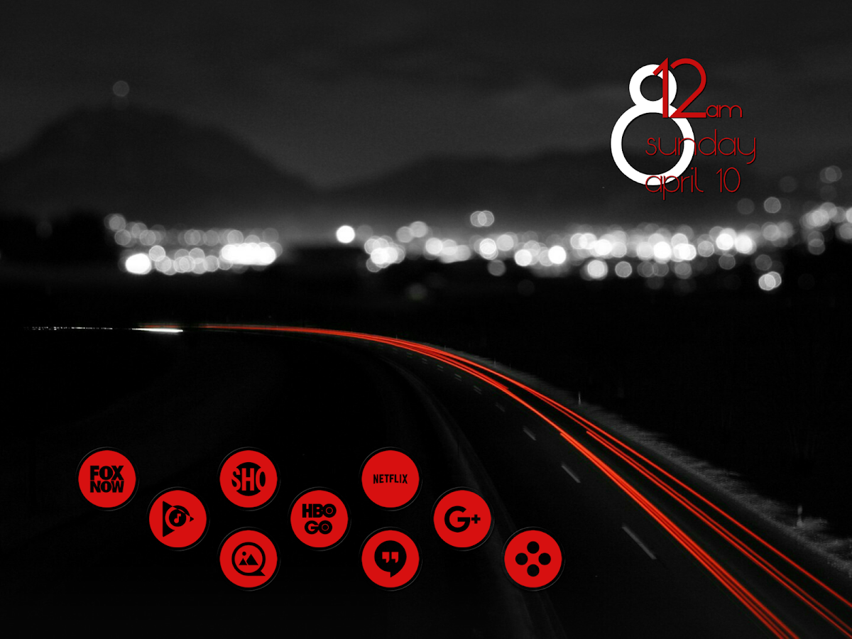 Miller Red - Icon Pack Screenshot 8