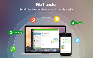 Screenshot of AirDroid: File Transfer, Share