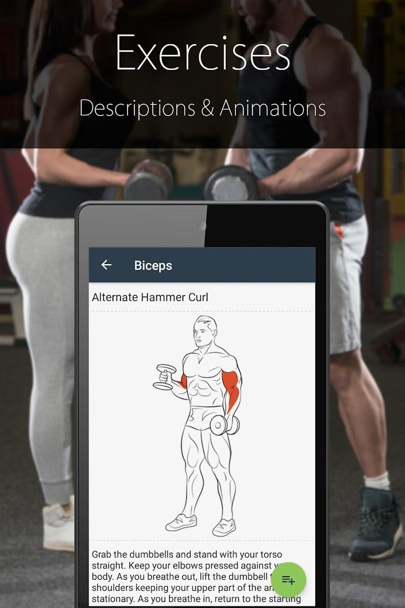 Fitness Trainer FitProSport FULL Screenshot 1
