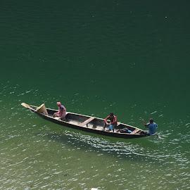 by Ashis Misra - Transportation Boats