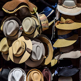 Sombreros  by Gliserio Castañeda G - Artistic Objects Other Objects