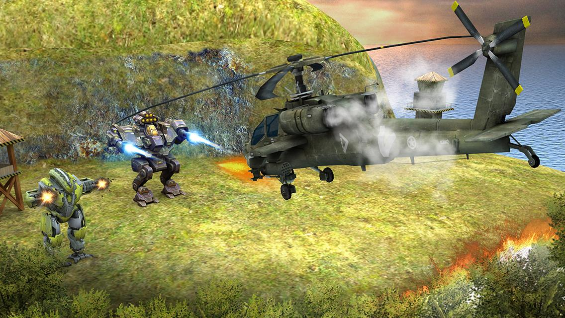 Copter vs Aliens Screenshot 12