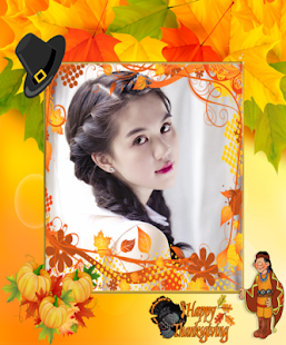 Autumn photo frames - screenshot