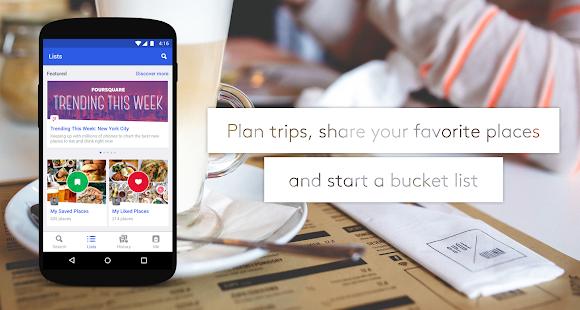 Foursquare City Guide APK for Bluestacks