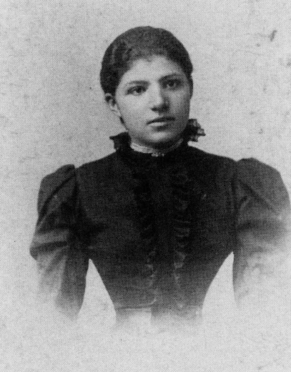Paula Turk Matz, Rudolph's mother, was born in Croatia in 1881.  She probably did not come from a very wealthy family because she entered domestic service as a girl.  This photograph was taken in Zagreb around 1898, before she was married.