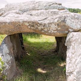 Dolmen by Stephane Glesaz - Landscapes Travel ( vannes, bretagne, stone, dolmen )