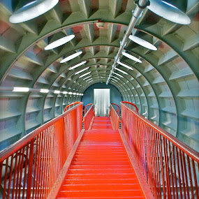 the red stair by David Van der Smissen - Buildings & Architecture Other Interior