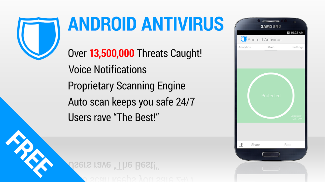 Antivirus for Android screenshots