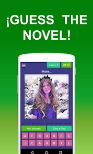Game Guess the novel APK for Kindle