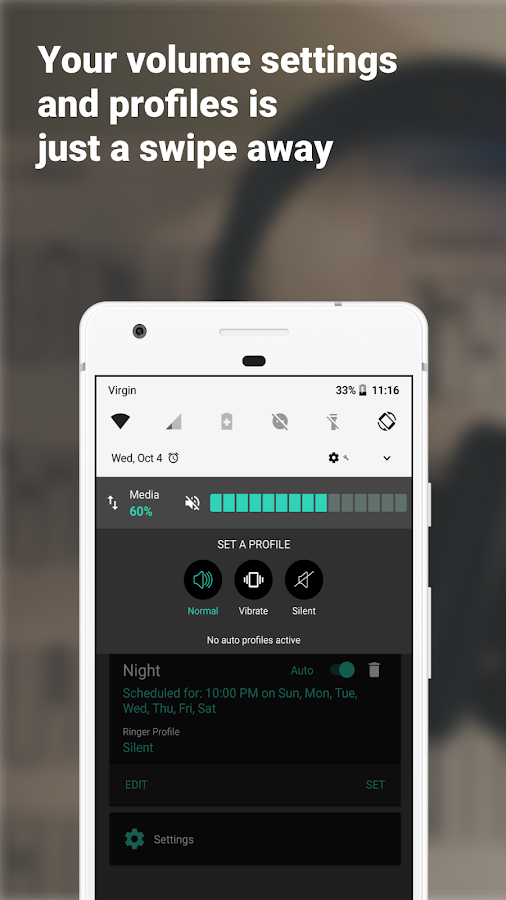 Volume + (Easy Control) Screenshot