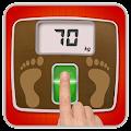 Weight Finger Scanner Prank APK for Bluestacks