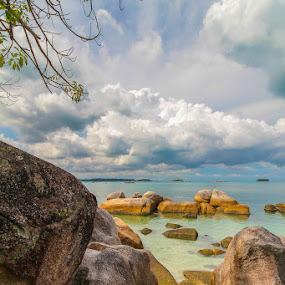 Rocks of Belitung Island by GilaMoto GilaMoto - Novices Only Landscapes