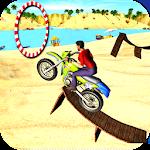 Motocross Beach Stunt Bike 3D Icon