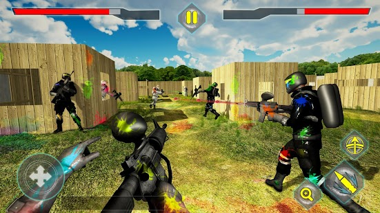 Paintball Shooting Arena: Real Battle Field Combat for pc