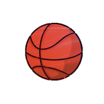 Jump Shot Dunk Icon