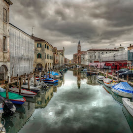 CHIOGGIA (Veniice) by Fernando Ale - City,  Street & Park  Historic Districts ( venice, hdr, italy,  )