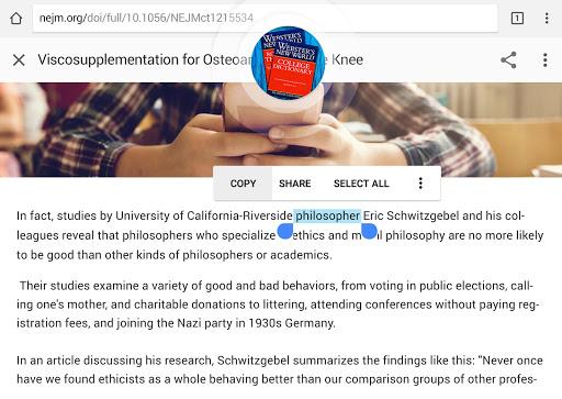 Webster's Dictionary+Thesaurus screenshot 11