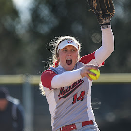 by Loren Orr - Sports & Fitness Other Sports ( concentration, pitcher, college, softball, focus )