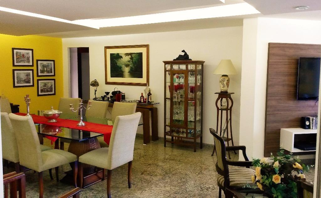 Apartamento com 4 dormitórios à venda, 181 m² por R$ 695.000 - Miramar - João Pessoa/PB
