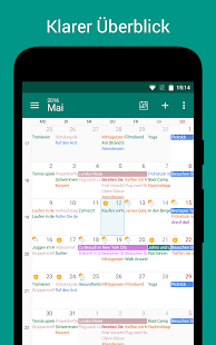 DigiCal Kalender 2016 Screenshot