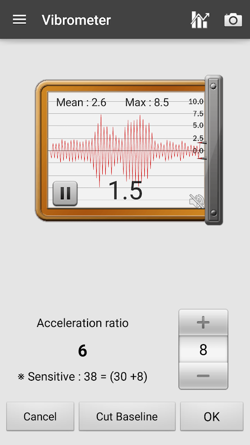 Sound Meter Pro Screenshot 5