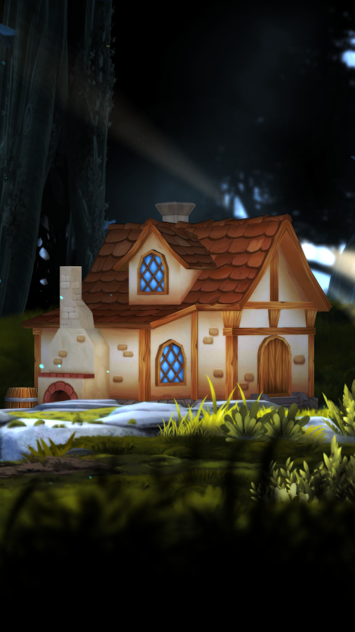 3D Forest House Full LWP Screenshot 3