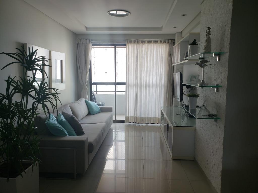 Apartamento com 3 dormitórios à venda, 120 m² por R$ 660.000 - Manaíra - João Pessoa/PB