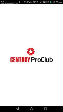 CenturyProClub Screenshot