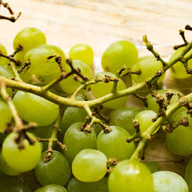 Bunch of Grapes by Meeta Thakur - Food & Drink Fruits & Vegetables ( cluster, fruit, healthy, organic, grapes )