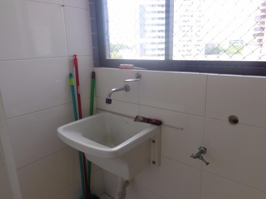Apartamento com 3 dormitórios para alugar, 80 m² por R$ 1.100,00/mês - Aeroclube - João Pessoa/PB
