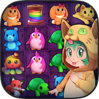 Fluffy Trolls Friends: Match 3 For PC (Windows And Mac)