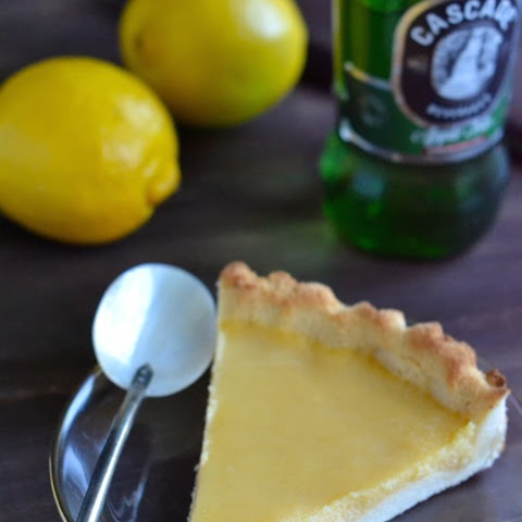 Paleo Lemon Curd Pie