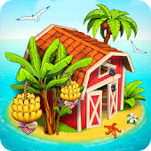 Download Farm Paradise: Hay Island Bay APK on PC