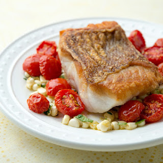 Red Snapper with Cherry Tomatoes