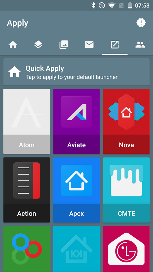 Redux Beta - Icon Pack Screenshot 2