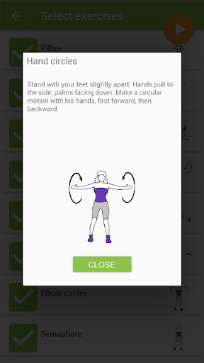 Beautiful breast workout - screenshot