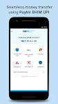 screenshot of Recharge, Payments, QR Scanner, UPI, Bank Account