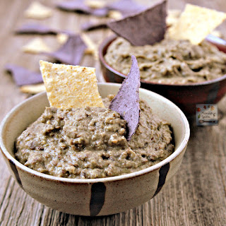 Easy 2 Ingredient Lentil and Cilantro Dip