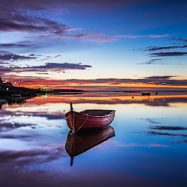 Boat by Hernâni Mendes - Landscapes Waterscapes ( relax, tranquil, relaxing, tranquility )