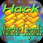 Download Full Cheats For Monster Legends Hack - Prank! 1.3 APK