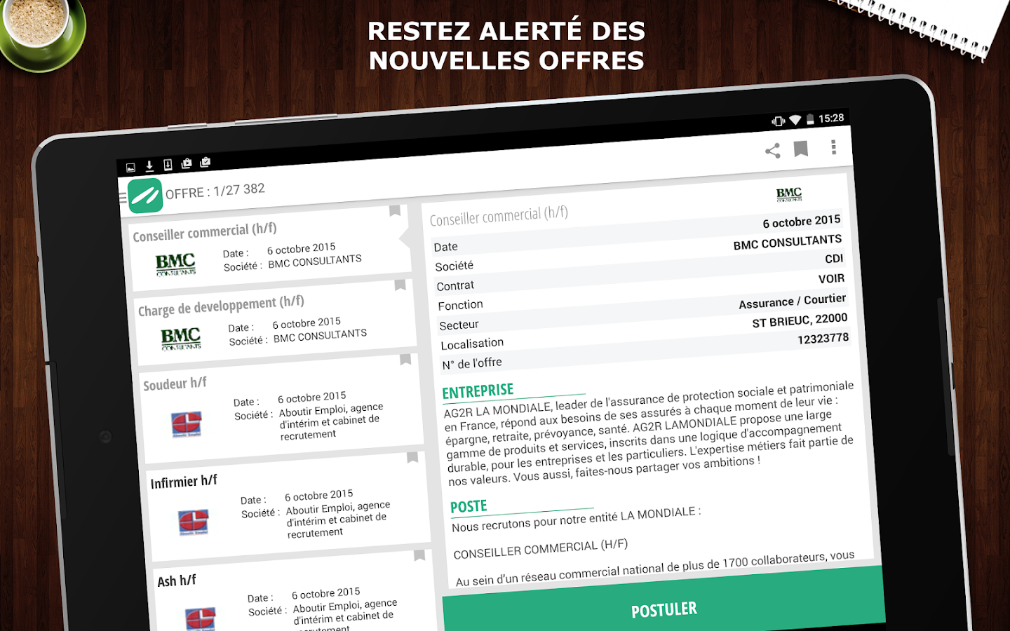 Keljob : Emploi, Job et Stage Screenshot 9