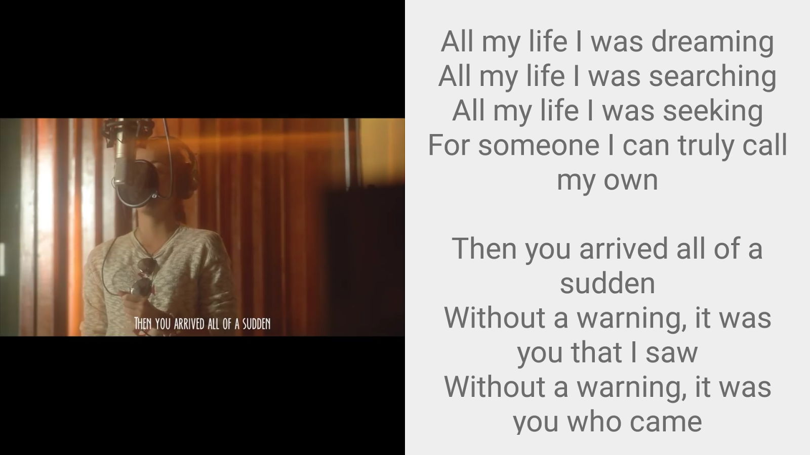 Imagine You & Me Lyrics Pro Screenshot 5