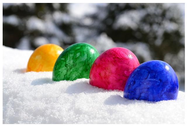 eggs in ice