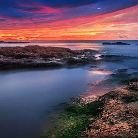 by Aditya Permana - Landscapes Waterscapes ( long, exposure, daytime, edition, challenge, , HDR, Landscapes, landscape, beach )