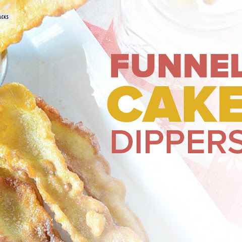 Funnel Cake Dippers