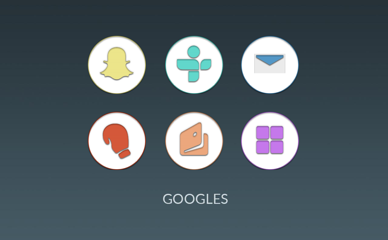 Garcia UI - Round Icons (Beta) Screenshot 2