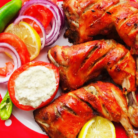 Restaurant Style Tandoori Chicken Without The Tandoor