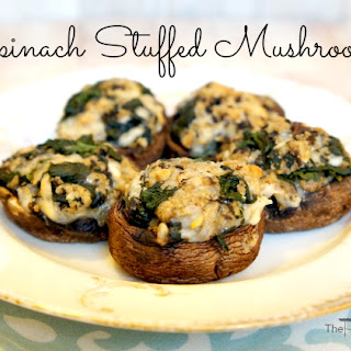 Spinach Stuffed Mushrooms