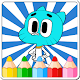 Coloring Games for Gumball