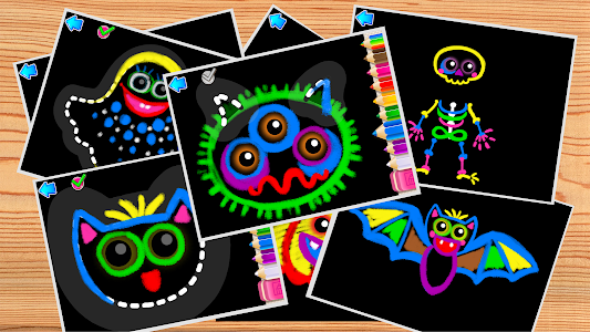 어린이를 위한 그리기! 유아용 학습 게임 동물! 유아 및 유치원 교육 무료 2 3 4 이미지[5]